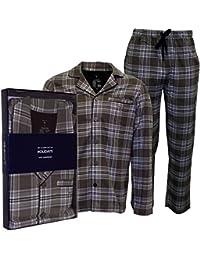 21220acfef Gant Brushed Flannel Check Men s Pyjama Set Gift Box