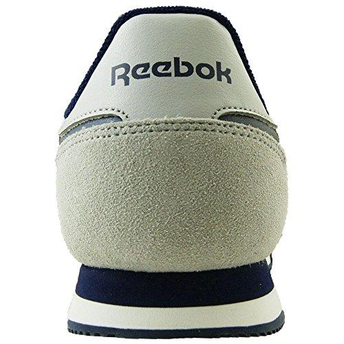Reebok Herren Royal Rayen 2 Laufschuhe Grau, Weiß, Blau (Lgh Solid Grey/White/Collegiate Navy)
