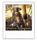 Weiße Piratenlampe von Caraibi