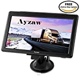 Ayzaw 733 Sat-Nav for Cars 7 Inch Satellite Navigation System with Full Europe (including UK) Lifetime Map Updates