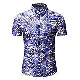 11e1529e1 Btruely Camisa Hawaiana para Hombre Mujer Casual Manga Corta Camisas Playa  Verano Unisex Camisetas Causal en Playa Verano Manga Corta Algodón para ...