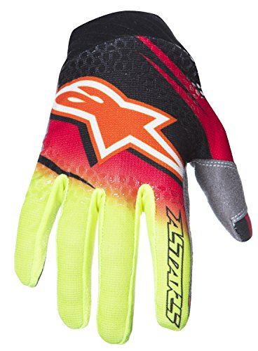 guantes-de-moto-cross-enduro-tela-alpinestars-techstars-venom-small-red-yellow-fluo-black