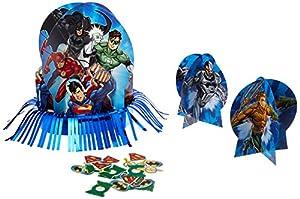 Juego de mesa decorativo de la Liga de la Justicia (281585), de la marca Amscan
