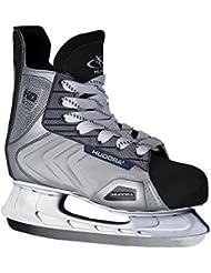 Hudora HD-216 Ice - Patines en paralelo para hombre de hockey sobre hielo y hockey, talla 43