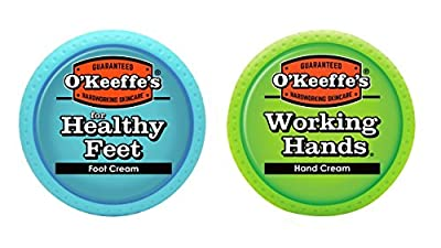 O'Keeffe's Working Hands Cream and Healthy Feet Set