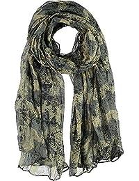 PASSIGATTI Schal mit Vintage Sternen, 200 x 100 cm