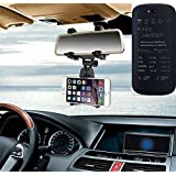 Sostenedor del montaje espejo retrovisor para Yota YotaPhone 2, negro | Escuadra de coches - K-S-Trade (TM)