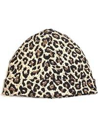 BabywearUK Leopard print half moon baby hat - British Made