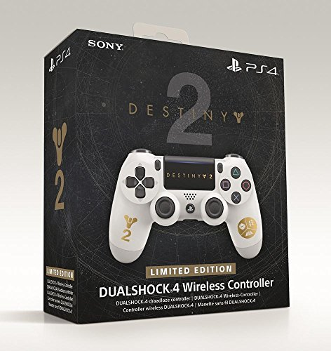 PlayStation 4 - DualShock 4 Wireless Controller, Limited Edition Destiny 2