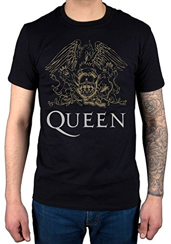 Musik Band T-shirt (Official Queen Crest T-Shirt)
