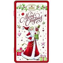 Heidel Caja de leche de chocolate superior caja de regalo de metal regalo de Navidad -