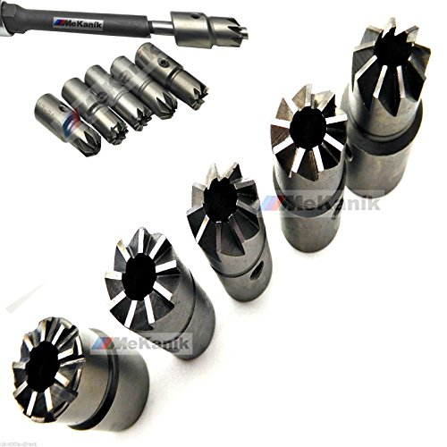 Universal Diesel Injector Seat Cutter Set 7pc Kit Delphi Bosch Cars Vans Re-Face Test