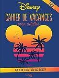 Cahier de vacances pour adultes Disney
