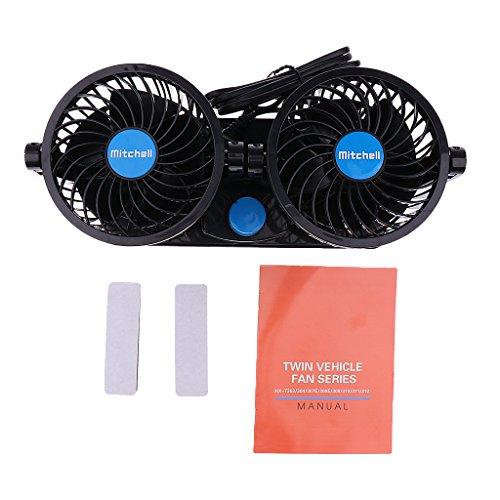 2-Gang-360 rotierenden Lüfter für Auto Klimaanlage Autokühler & Kühlerteile