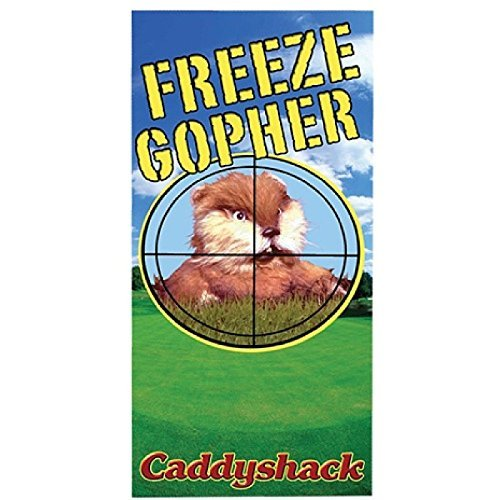 t Caddyshack - Freeze Gopher Beach/Bath Towel by Factory Entertainment ()
