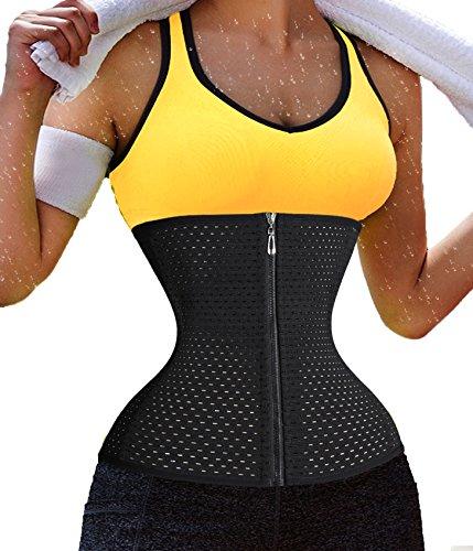 fitness-quick-weight-lossplus-size-zipper-with-hook-waist-trainer-cincher-belt-large-black