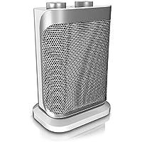 Brandson - Heizlüfter mit zwei Leistungsstufen - stufenlose Temperaturregelung - Keramik Heizelement - Überhitzungsschutz - Thermosicherung - Umkippschutz - Heizung Heater - GS-zertifiziert