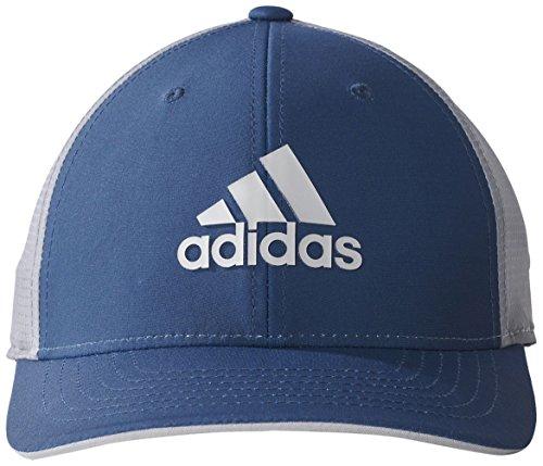 Adidas ClimaCool Lightweight Flexfit Golf-Kappe, Herren, Herren, Lightweight Climacool Flexfit, Blau/Grau (Climacool Golf)