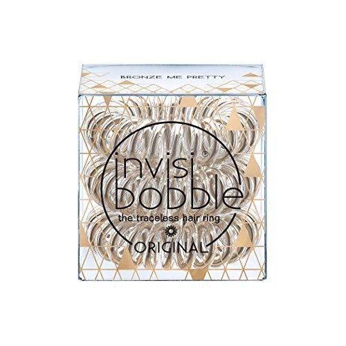Invisibobble originale time to shine edition bronzo me pretty invisibobble-elastico per capelli anello
