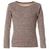BEZLIT Mädchen Sweatshirt Pullover Pulli Langarm 21645, Farbe:Creme, Größe:116