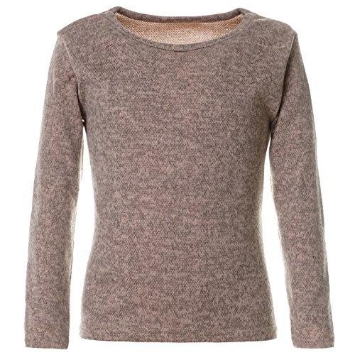 BEZLIT Mädchen Sweatshirt Pullover Pulli Langarm 21645 Creme Größe 116