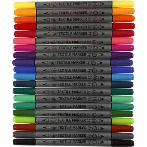 20-st-textilmarker-stoffmalstifte-textil-marker-t-shirt-marker-m-doppelspitze-1