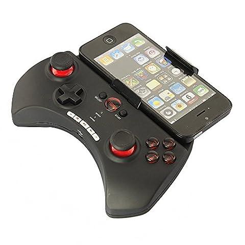 Manette de Jeu Sans Fil Bluetooth Stoga Gfun STG102 noir sans fil Bluetooth pour iPhone 4/4 s iPhone 5/5 s iPad Samsung Galaxy S4/I9500 S3/I9300