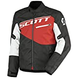 Scott Sport 2 DP Motorrad Jacke schwarz/rot 2016: Größe: XXL (54/56)