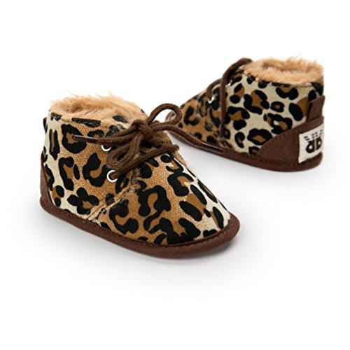 Zapatos bebé, Kfnire Suela Blanda Invierno Infantil