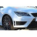 Finest-Folia kiemen Pantalla Negro Apta para Seat Leon Cupra 5 F SC St Performance