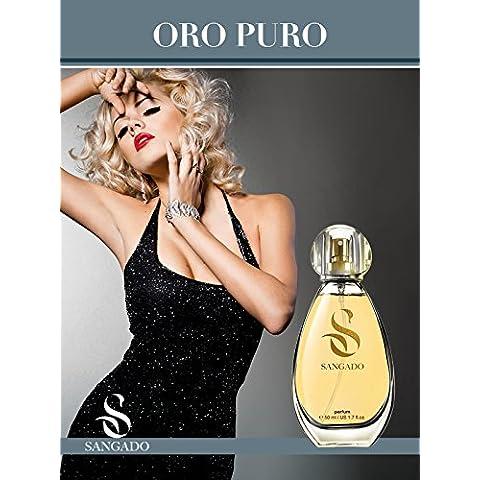 ORO PURO - Perfume (Parfum) de SANGADO para ella – spray 50ml
