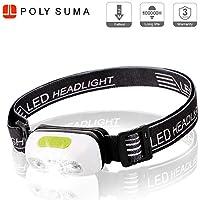 LED Stirnlampe Taschenlampe Kopflamp Stirnleuchte Outdoor Licht Headlight DE