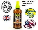 Banana Boat 235 ml Olio Abbronzatura Profonda Fattore di Protezione Solare#8 Spray