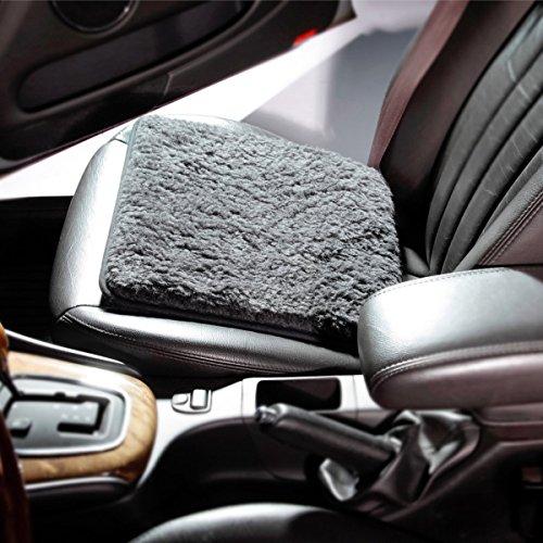 Preisvergleich Produktbild Schurwoll-Autositzkissen