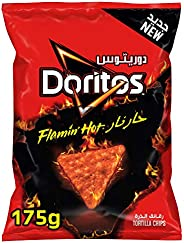 Doritos Flaming Hot Tortilla Chips, 175g