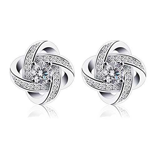 B.Catcher Ohrringe Damen Ohrstecker 925 Sterling Silber Ohrschmuck ''Sternennacht