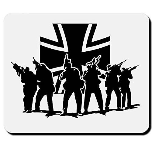 Bundeswehr Elite Einheit KSK Kommandospezialkräfte Bund BW Eisernes Kreuz - Mauspad Mousepad #2624