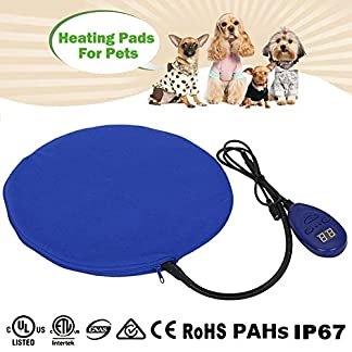 12W Heat Pads for Pets Zuoao Electric Heating Pad Waterproof Heated Pet Pad Warming Cat Dog Cushion Bed With Anti Bite… 2