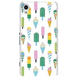 Wildpunch WP-N5(12) Popsicle Ice-Cream Designer Phone Back Cover Case For Nexus5 (White)