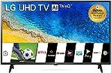 LG 108 cm (43 inches) 4K UHD Smart LED TV 43UM7290PTF (Ceramic Black) (2019 Model)