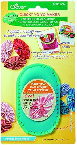 Clover Quick Yo-Yo Maker-Kleine Oval -