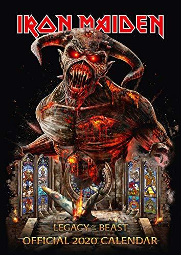 Iron Maiden 2020 Calendar