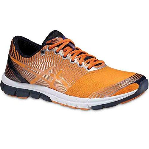 asics-zapatillas-deportivas-running-gel-lyte-33-3-naranja-azul-marino-plata-eu-425-us-9