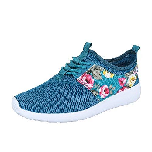 Ital-Design, Sneaker donna Turchese