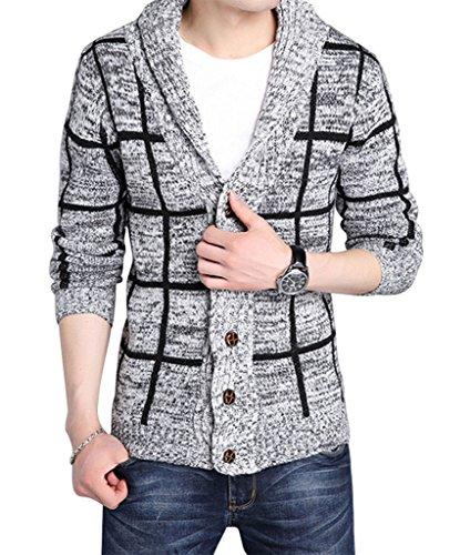 Gillbro Series Shawl Collar Cardigan Sweater A