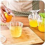 takestop® SPREMI PREMI AGRUMI Limone Uccellino VERSATORE DOSATORE JUICER Manuale con Contenitore Limoni Arance SPREMILIMONI Casuale