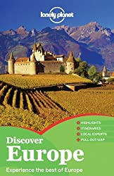 Lonely Planet Discover Europe (Full Color Multi Country Travel Guide) by Oliver Berry (2012-01-01)