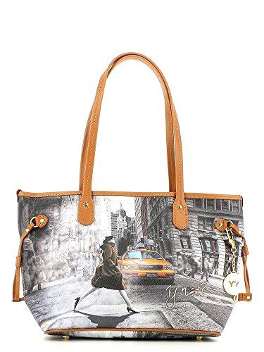 Borsa donna Y Not E-319 Shopping Bag Met Taxi