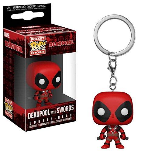 Deadpool Marvel Comics - Vinyl Schlüsselanhänger 2