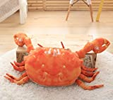 Creative Crab Oreiller Coussin Mignon Oreillers Coussin Lit Voiture Personnalité Oreiller Bureau Taille Oreiller 60 Cm